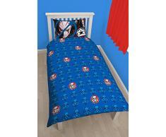 Character World Disney Star Wars Rebels Tag - Juego de funda de edredón y funda de almohada para cama individual