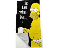 The Simpson - Toalla de playa (150 x 75 cm), diseño Homer Simpson