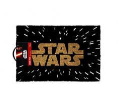 La Guerra de las Galaxias Hyperraum mit Logo Alfombra para puerta Standard