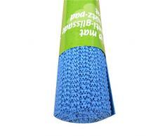 AmandaJ Antideslizante Agarre Tapete, PVC Antideslizante Rollo Multiuso Antideslizante Alfombrilla Alfombra para Hogar, Oficina, Coches 150 X 30CM - Azul, Free Size