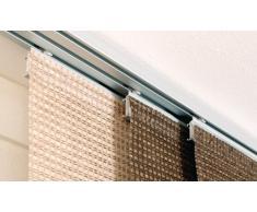 Gardinia 10010987 - Estor Decorativo Largo (se Incluye Barra de Aluminio, Puede acortarse en la Parte Inferior, 60x245cm), Color Crema