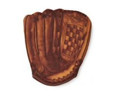 Homerun Mustard NG 5322 - Guante de cocina para horno con diseño de guante de béisbol, color marrón