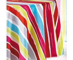 Le Jardin Des Cigales - 3006666, Mantel Redondo , 180 Cm , Pacifique , Poliéster Estampado , Multicolor