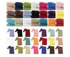 Textiles Direct - Toallas y accesorios de baño (100% algodón egipcio, 500 g/m²)