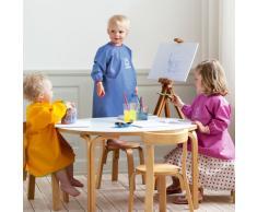 BabyBjörn 044386 - Delantal para jugar y comer, color azul