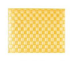 Saleen Mantel Individual Rectangular, 30 x 40 cm, Color Amarillo,