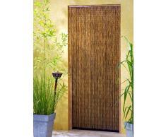 Leguana - Cortina para puerta de bambu saigón 90x200 cm con 99 hebras de 90 cm de anchura !