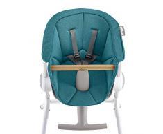 Béaba 912589 - Cojin, asiento textil, para la trona estilo Up & Down, 6 meses a 3 años, Color Azul, Peso 600 gr