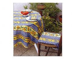 Mantel antimanchas redondo 180 cm BASTIDE
