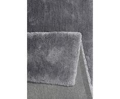 Esprit Relaxx Moderno Marca Alfombra, poliéster, Frost Gris, 290 x 200 x 2.5 cm