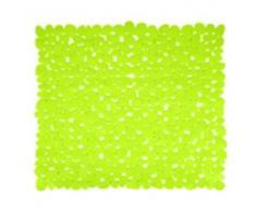 MSV, Antideslizante Alfombra de baño de PVC, 53 x 53 x 0,1 cm, Verde (grün)