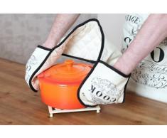 Premier Housewares - Guante de cocina para horno, color beige
