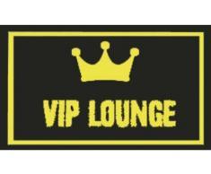 "Villa D'Este Home 2301089 Felpudo de Fibra de Coco, diseño ""Vip Lounge"", 45x75"