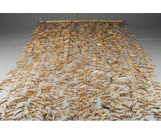 Cortinas de Cocos-de palos de madera natural mide: 90 x 180 cm, madera de material