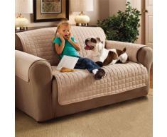 Protector Cubierta Mueble Resistente al Agua Sofá Beige