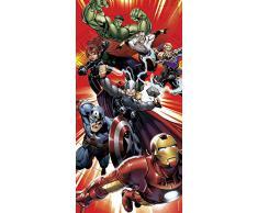 "Marvel Avengers 140 x 70 cm ""Carácter"" La playa y toalla de baño"