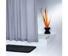 Ridder 453100-350 Madison - Cortina de Ducha de Tela (180 x 200 cm), Color Antracita