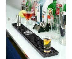 Tapete de Bar de goma tamaño grande 60,96 cm | Bar @ drinkstuff Bar de goma camino de mesa, de patrones de costura para camisetas de