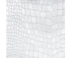 LHarmonie Du Décor - 1721600, Mantel Redondo , 180 Cm , Serpentile , Jacquard Adamascado , Blanco