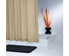Ridder 451090-350 - Cortina de ducha de tela (120 x 200 cm, anillas incluidas), color beige