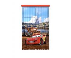 Diseño AG FCS L 7101 Cars de Disney cortina cortinas Photo Print impresión fotográfica cortina, 140 x 245 cm, 1 pieza
