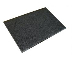 Doortex - Alfombra de exterior, 900x1500 mm, color gris