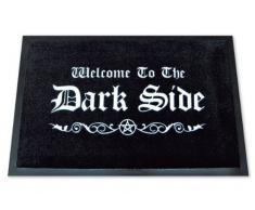 """Felpudo con mensaje """"Bienvenido al lado oscuro"""" (en inglés)"""