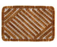 William Armes 2487001 - Felpudo de fibra de coco natural, 60 x 40 cm