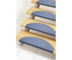 Andiamo alfombra para la escalera en azul, autoadhesivas, fácil de limpiar