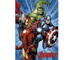 Manta polar Vengadores Avengers Marvel