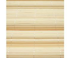 Victoria M.. - Persiana de bambú para Interiores, Color de Color Natural, tamaño: 100 x 160 cm