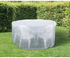 Wehncke 15488 - Funda de protección, cubierta para mesas + sillas de jardín ø 320x93 cm