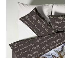 Catherine Lansfield CL Oh Deer - Juego de funda nórdica para cama de 150 cm