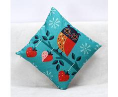 Tongshi Animal Print Sofá cama Cubre Cojines Inicio Funda de almohada Decoración Festival (E)