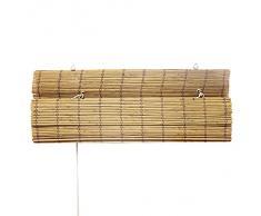 Victoria M - Persiana de bambú por interior, color bambú, tamaño: 120 x 160 cm
