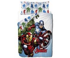 Marvel Avengers Trio - Funda nordica 3 piezas para cama de 90 cm