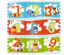 Disney - Alfombra tipo puzzle, diseño de Winnie the Pooh