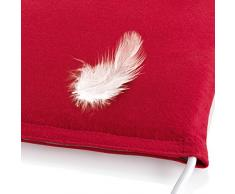 Bosch Relaxx Therm L - Almohadilla eléctrica, 100W, 3 niveles de temperatura, color rojo