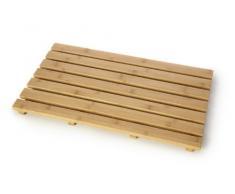 Junta de bambú rectangular de pato – Alfombrilla de baño