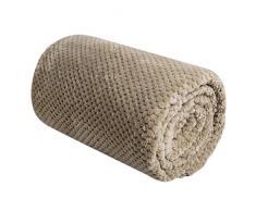 Manta de mantas, lujo suave manta mantas ligero cálido cama silla sofá mantas para celular Coral manta de forro polar quit cubre viaje manta de sofá