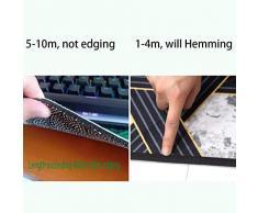 LINLINZ-Alfombra De Pasillo geométrico 3D Corredor Hall de Entrada Lavable Durable Puede ser Personalizado (Color : A, Size : 0.5x1m)
