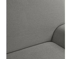 Casa Textil Enzo - Funda para sofá, 2 plazas, color gris