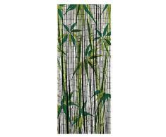 Wenko 819113500 bambú cortina Bamboo, bambú, multicolor, 200 x 90 x 0.2 cm