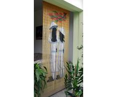 """'bambú Puerta cortina de bambú Cortina Cortina para puerta """"New Asia aprox. 90 x 200 cm"""