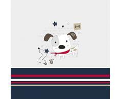 NATURALS Juego Funda Nórdica Infantil Love Dog (Cama 90)