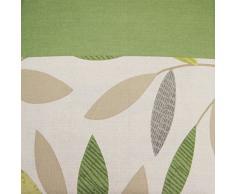 Just Contempo Modern hoja con ojales cortinas con forro, verde, 90 x 228,6 cm