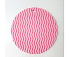 Kuke redondez diseño de agarradera de silicona con onda en forma de antideslizante, Flexible, resistente, caliente almohadillas resistente al calor