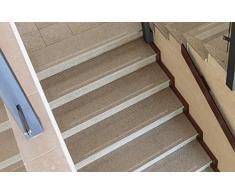 Anti-Rutsch Streifen Nivel{17} unidades/64 cm x 3 cm, pueden perro y niño. En lugar de peldaños de escalera alfombra como con protección antideslizante, fácil de apenas visible para tejer autoadhesivo pequeña OD.. Grip antideslizante