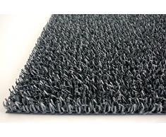 AstroTurf Classic Felpudo Alfombra de Entrada Exterior, 55 x 90 cm, Color Negro, 90x55x1 cm