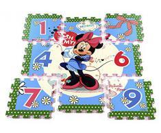 original Disney Minnie de Mickey oh del ratón my 17 piezas 3d puzzle Mate/Alfombra/alfombrilla/Alfombra De Juegos 93 x 93 x 1 cm nuevo